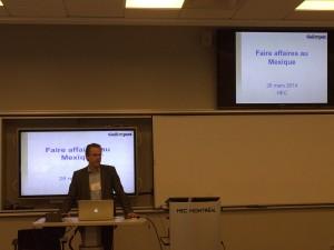 Louis-Philippe Bourgeois en conférence aux HEC Montréal !