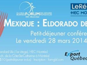 Louis-Philippe Bourgeois sera conférencier au Forum des Affaires Mondiales aux HEC Montréal