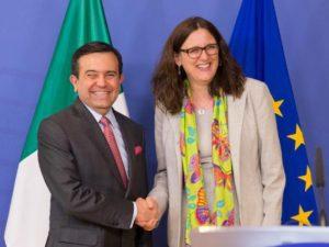 L'ère Trump accélère les négociations commerciales entre l'UE et le Mexique